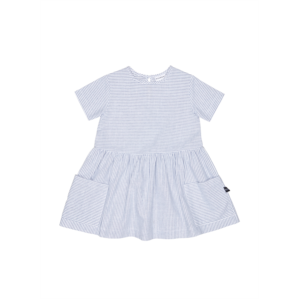 Huxbaby Stripe Darcy Dress - Organic
