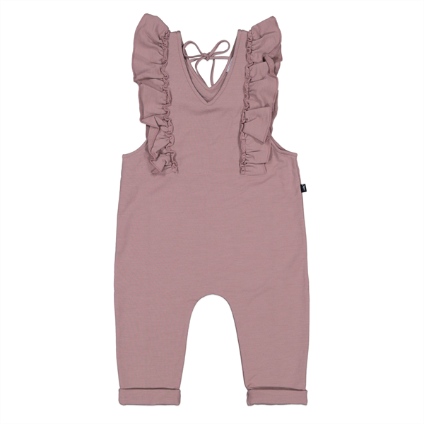 Little Flock of Horrors Merino Everly Romper
