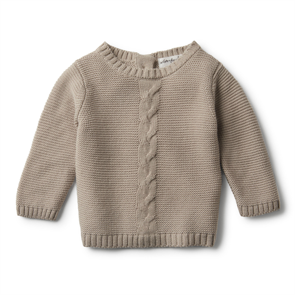 Wilson & Frenchy Cable Slouch Jumper