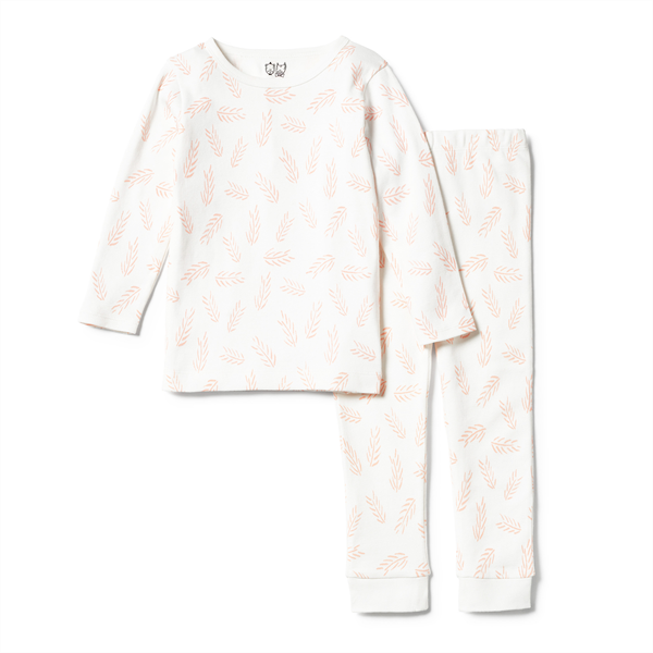 Wilson & Frenchy Flow Organic Long Sleeve PJ Set