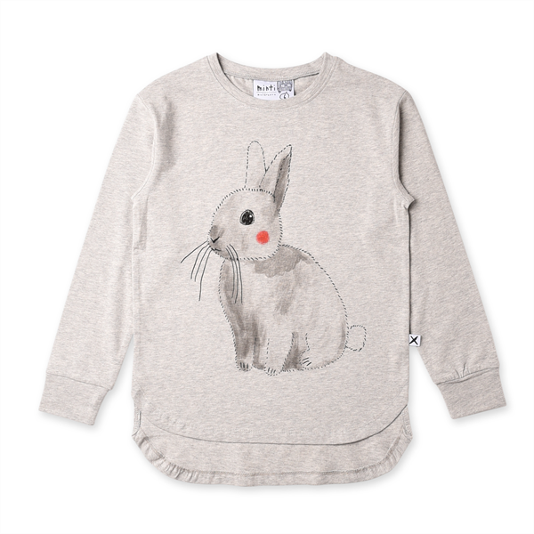 Minti Watercolour Bunny Tee