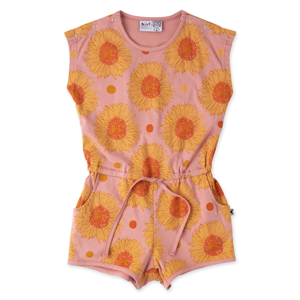 Minti Friendly Sunflowers Playsuit