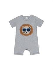 Huxbaby Cool Lion Short Romper-gift-ideas-Bambini