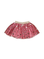 Huxbaby Gold Cherry Tulle Skirt-gift-ideas-Bambini