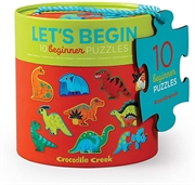 Croc Creek Lets Begin 2pc Puzzles-girl-Bambini