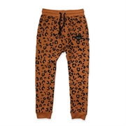 Hello Stranger Leopard Lover Trackies-pants-and-shorts-Bambini