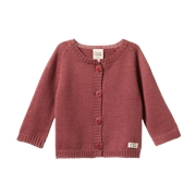 Nature Baby Merino Knit Cardigan-jackets-and-cardigans-Bambini