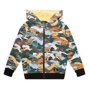 Rock Your Kid Dino Stampede Hoodie-rock-your-baby-Bambini