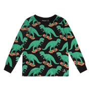 Rock Your Kid Dino Skater T-Shirt-rock-your-baby-Bambini